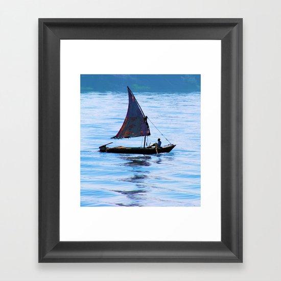 Homeward (bound) Framed Art Print