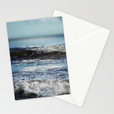 Blue 'tilt' wake Stationery Cards