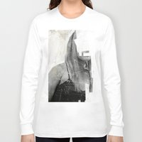 number Long Sleeve T-shirts featuring Faceless | number 03 by FAMOUS WHEN DEAD