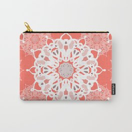 Coraled Mandalas Carry-All Pouch