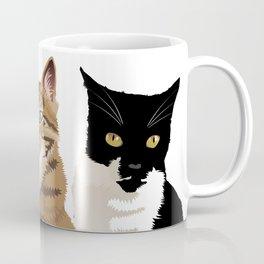 Fellini, Lola and Minou  Coffee Mug