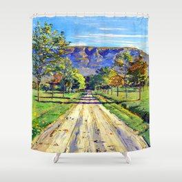 Ferdinand Hodler Road to Evordes Shower Curtain