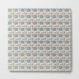 Sidewalk Tiles Metal Print