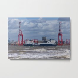 Seatruck Panorama Metal Print