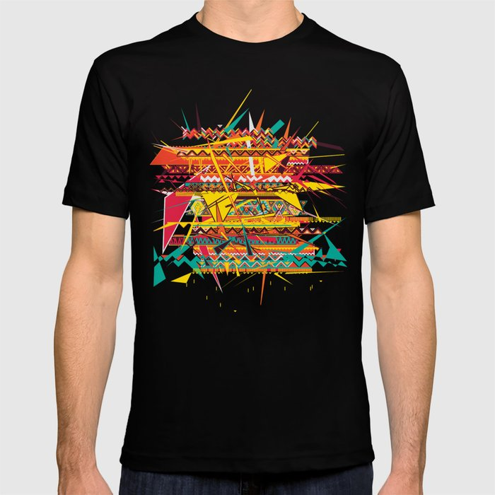 Aztec Pattern T-shirt