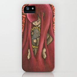 Ghost Kiss iPhone Case