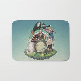 Ghibli: Bliss in Light Bath Mat