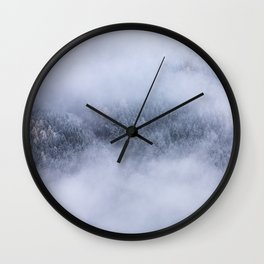 Beneath The Fog Wall Clock