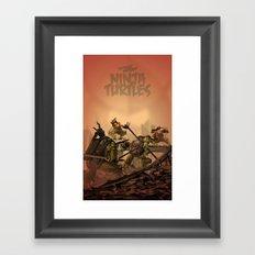 Teenage Mutant Ninja Turtles Framed Art Print