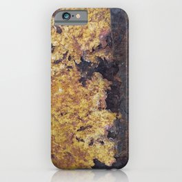 Rusty Metal Surface Texture iPhone Case