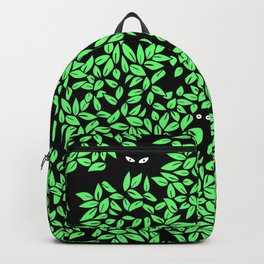 Critters Hiding Among Leaves Backpack