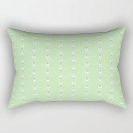 The Eye - Baby Green Rectangular Pillow