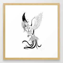 Bird Syrin Framed Art Print