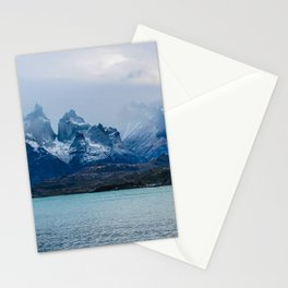 Los Cuernos II | Torres del Paine National Park, Patagonia Stationery Cards