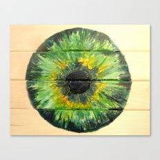 EVER-GREEN IRIS Canvas Print