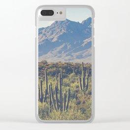 Wild West III - Tucson Clear iPhone Case