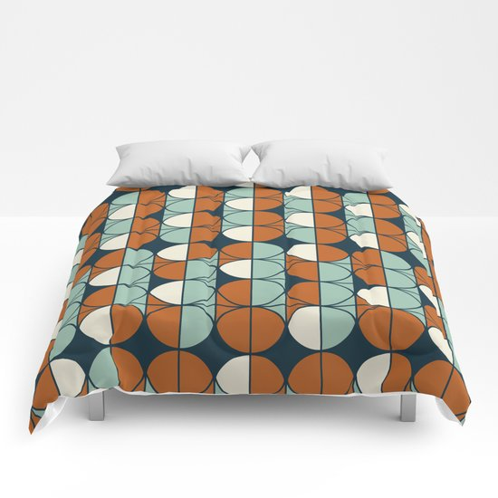 Retro pattern Comforters