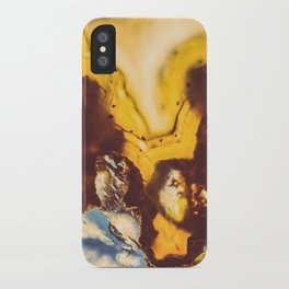 Amber Honey Agate iPhone Case