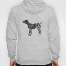 black dog Hoody