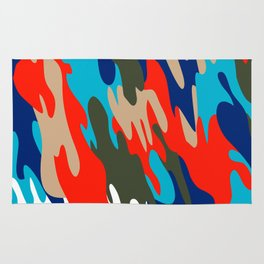 Pattern Camouflage Rug