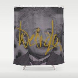 Weirdo: Einstein Shower Curtain