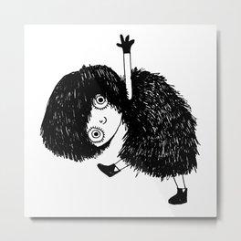 Dancing Girl Metal Print