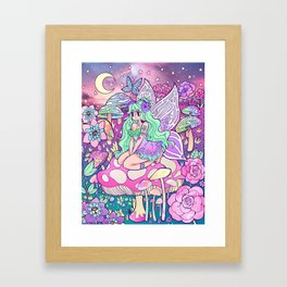 Iridescent Moonlight Framed Art Print