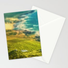 Oceanic vista Stationery Cards