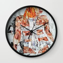 LEELOO THE FIFTH ELEMENT Wall Clock