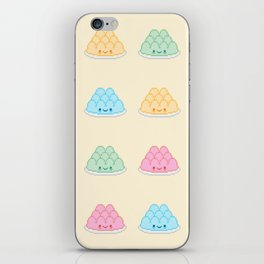 Cute Kawaii Pixel Jelly iPhone Skin