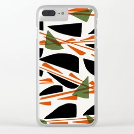 Abstracted (option 2) Clear iPhone Case