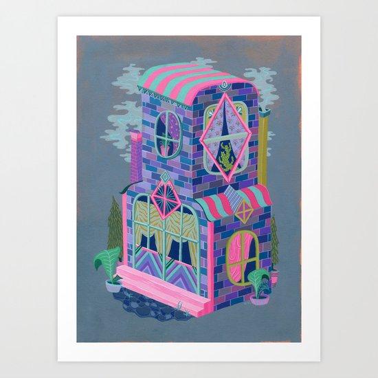Diamond House Art Print