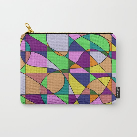 Pastel Pieces Carry-All Pouch