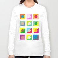 watercolour Long Sleeve T-shirts featuring WaterColour by VentureDesign
