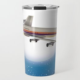 Travel the world by Airliner Travel Mug