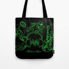 Music - 2 Tote Bag