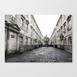 Street in Bath Canvas Print