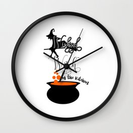 Funny Halloween Gifts - Wicked Witch Wall Clock