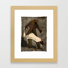 The Birdman (after Max Ernst) Framed Art Print