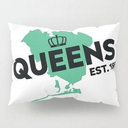 Queens NYC - Green Pillow Sham