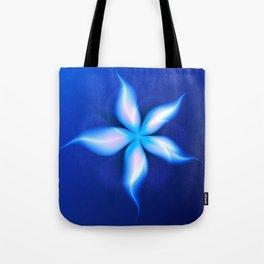 La Fleur Magique de la Sorcière Fractal Tote Bag