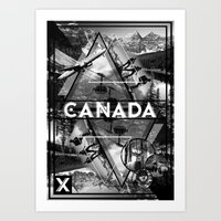 canada Art Prints featuring Canada by Sophie Bland