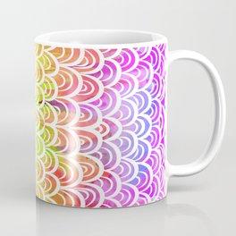 Watercolor Rainbow Mermaid Coffee Mug