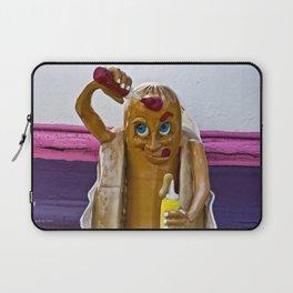 Hot Dog Dressing Up Laptop Sleeve