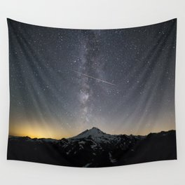 Perseid Meteor Shower Wall Tapestry