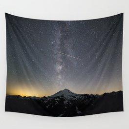 Perseid Meteor Shower Wall Tapestry