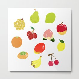 Fruits Fruits Fruits! Metal Print