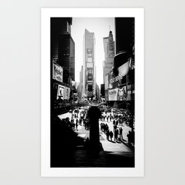 Times Square, NYC, March 2015 Art Print