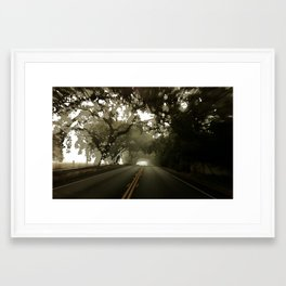 blur 12 Framed Art Print