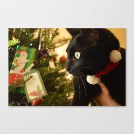 Holiday Cat Canvas Print